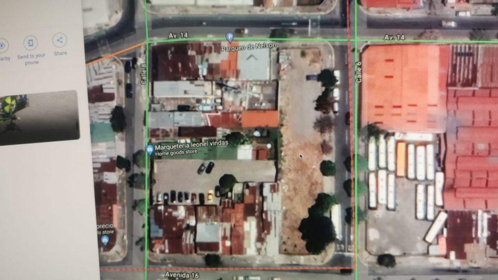 1244.71 Mt² de Terreno sin construcción con 3 frentes en SJO